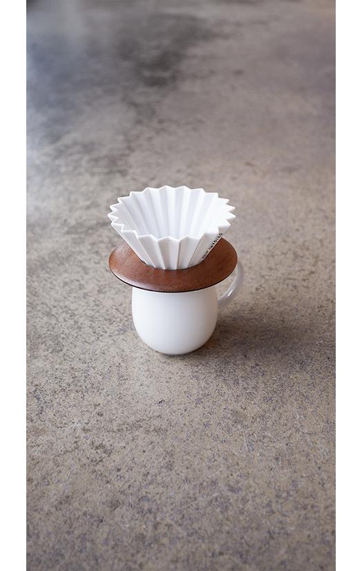 Origami Filter S mit Aroma Schale
